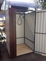 Душевая кабина  «Премиум-комфорт» 1,2 х 1,2 метра с баком