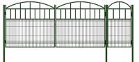 Ворота с калиткой комплект 3,5 + 0,8 метра