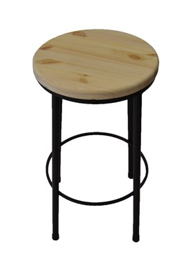 Барный стул Лофт круглый - фото 10270