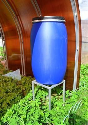 Подставка под бочку 200 литров для капельного полива 40 х 40 х 50 см. - фото 11147