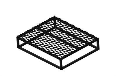 Крыльцо - площадка к дому 1 ступень с решеткой - фото 11493