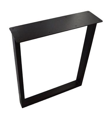 Подстолье для стола из металла 60х30 мм. Опора с пластиной в стиле Лофт G-5 720 х 590 мм. ( 1шт. ) - фото 11583