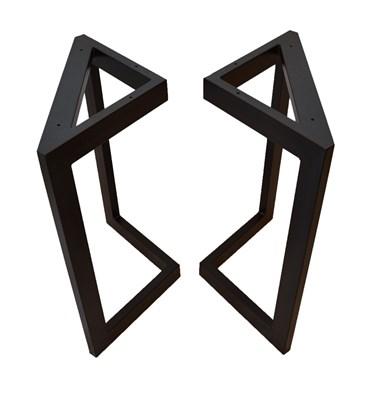 Подстолье для стола из металла 60х30 мм. в стиле Лофт G-3, 900 х 600 мм. - фото 11647