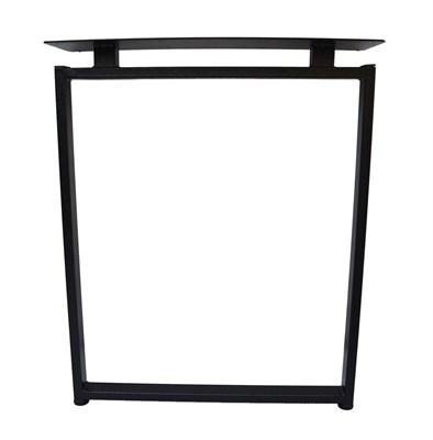 Подстолье для стола из металла 40х20 мм. Опора с пластиной в стиле Лофт G-8 720 х 590 мм. (1 шт.) - фото 11752