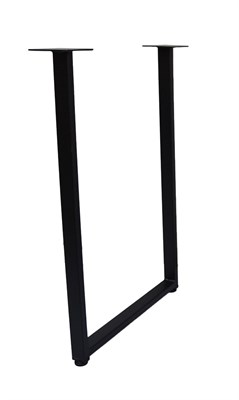 Подстолье для стола из металла 40х20 мм. Опора в стиле Лофт G-10 720 х 550 мм. (1 шт.) - фото 11832
