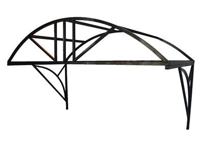 Козырек над крыльцом арочный 2 метра. Классик G-3 Усиленный - фото 12020