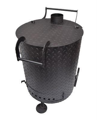 """Бочка """"Усиленная мини"""" для сжигания мусора (3 мм сталь) - фото 12198"""