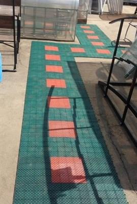 Дорожка пластиковая для теплицы 0,9 кв.метра - фото 6291