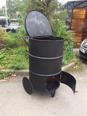 Бочка для сжигания мусора - фото 7116