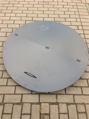 Крышка металлическая на колодец - фото 7119