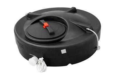 Бак для душа 120 литров с ТЭНом 1,5 Квт + Уровень воды и штуцер - фото 7267