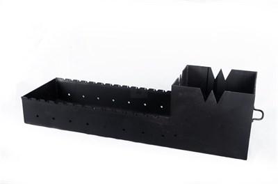 Мангал Чаша 300 х 1100 мм 5 мм с подказанником - фото 7549