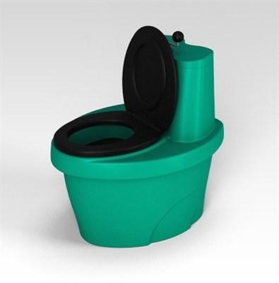 Туалет торфяной «Rostok» зеленый - фото 7690