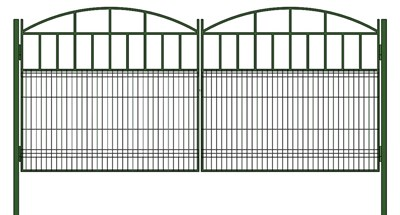Ворота 3,5 метра шириной - фото 8383
