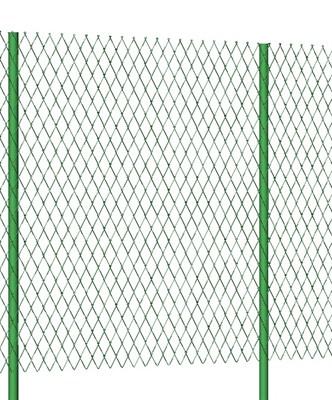 Забор из сетки Рабицы в полимерном покрытии 1,5 метра высотой с Монтажом - фото 8419