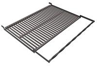 Решетка чугунная Премиум для гриля в рамке 570 х 390 мм.