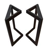 Подстолье для стола из металла 60х30 мм. в стиле Лофт G-3, 720 х 600 мм.