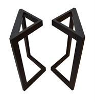 Подстолье для стола из металла 60х30 мм. в стиле Лофт G-3, 900 х 600 мм.