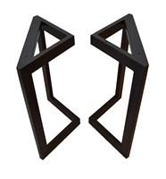 Подстолье для стола из металла 60х30 мм. в стиле Лофт G-3, 1050 х 600 мм.