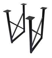 Подстолье для стола из металла 40х20 мм. в стиле Лофт G-X в рамке 720 х 560 мм.