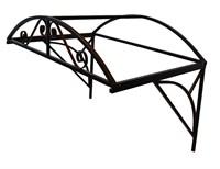 Козырек над крыльцом арочный 2 метра. Ажурный G-1 Усиленный