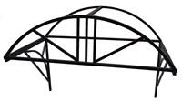 Козырек над крыльцом арочный 1,5 метра. Классик G-3 Усиленный