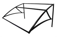 Козырек над крыльцом универсальный 1,45 метра (Усиленный)