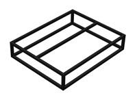 Крыльцо - площадка к дому 1 ступень - каркас
