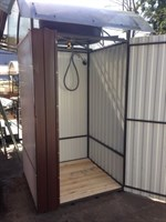 Душевая кабина  «Премиум-комфорт» 1,2 х 1,2 метра без бака