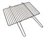Решетка Гриль нержавейка 4-6 мм, решетка барбекю с ручками, 495 х 330 мм. - фото 10362