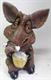Садовая фигура Кабан мультяшный с кружкой 28 х 23 х 16 см. - фото 8632